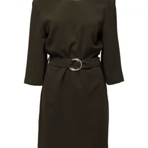 Mango Belted Dress mekko