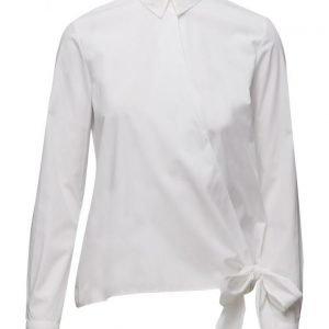 Mango Bow Poplin Shirt pitkähihainen paita