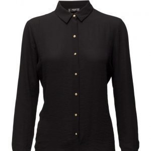 Mango Buttoned Flowy Shirt pitkähihainen paita