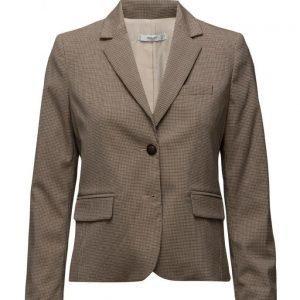 Mango Check Suit Blazer bleiseri