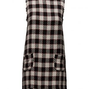 Mango Check Tweed Dress neulemekko