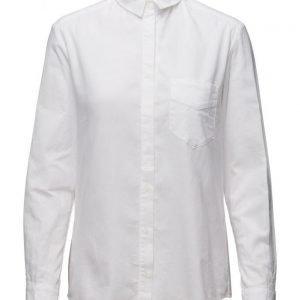 Mango Chest-Pocket Cotton Shirt pitkähihainen paita