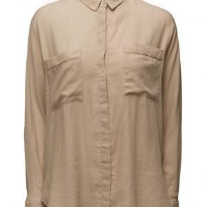 Mango Chest-Pocket Cotton Shirt pitkähihainen pusero