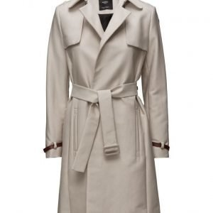 Mango Classic Cotton Trench Coat trenssi