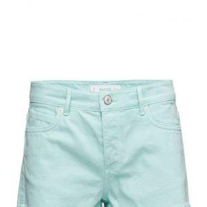 Mango Color Denim Shorts farkkushortsit