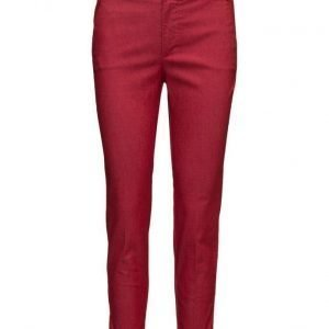 Mango Cotton Crop Trousers suorat housut