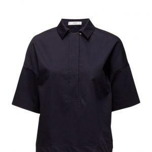 Mango Cotton Shirt lyhythihainen paita