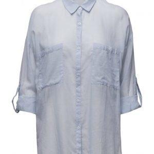 Mango Cotton Shirt pitkähihainen paita