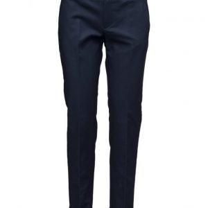Mango Cotton Suit Trousers suorat housut