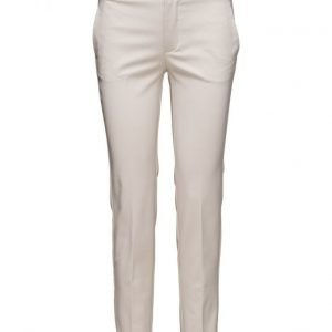 Mango Cotton Suit Trousers suorat housut