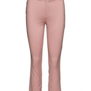 Mango Cotton Trousers suorat housut
