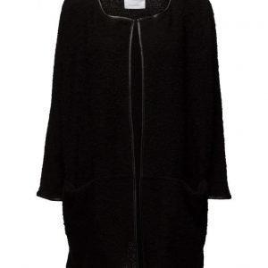 Mango Cotton Wool-Blend Coat neuletakki