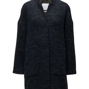 Mango Cotton Wool-Blend Coat villakangastakki