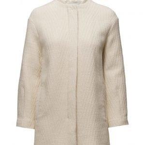 Mango Cotton Wool-Blend Coat villakangastakki
