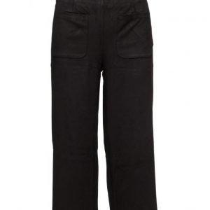 Mango Crop Trousers leveälahkeiset housut