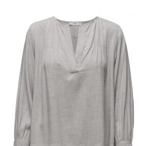 Mango Decorative Pleat Blouse pitkähihainen pusero