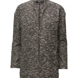 Mango Flecked Cotton-Blend Jacket kevyt päällystakki