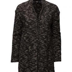 Mango Flecked Cotton-Blend Jacket kevyt takki