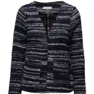 Mango Flecked Cotton-Blend Jacket neuletakki