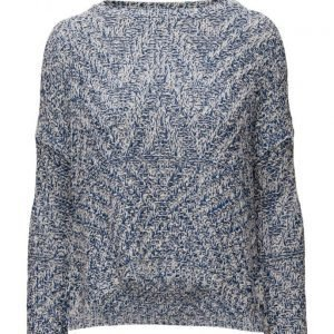 Mango Flecked Cotton-Blend Sweater neulepusero