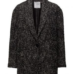 Mango Flecked Wool-Blend Coat villakangastakki