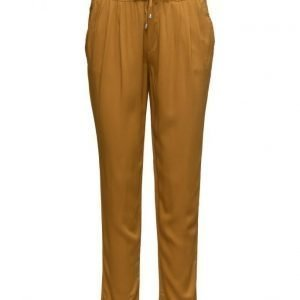 Mango Flowy Baggy Trousers casual housut