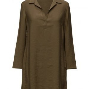 Mango Flowy Shirt Dress tunikka
