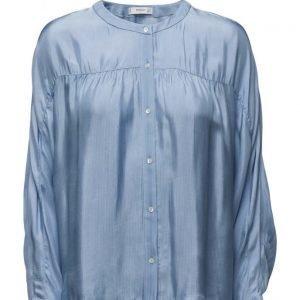 Mango Flowy Shirt pitkähihainen pusero