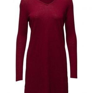 Mango Knit Cotton-Blend Dress neulemekko