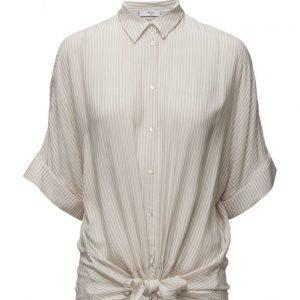 Mango Knot Printed Shirt lyhythihainen paita