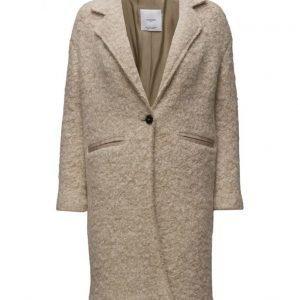 Mango Lapels Wool Coat villakangastakki