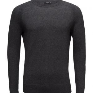 Mango Man Cotton Cashmere-Blend Sweater pyöreäaukkoinen neule