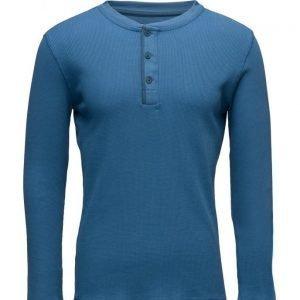 Mango Man Henley Cotton T-Shirt pitkähihainen t-paita
