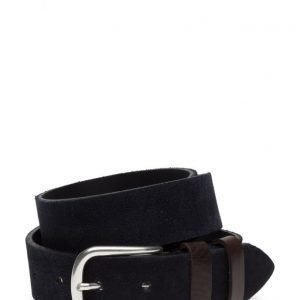 Mango Man Leather Mixed Belt vyö