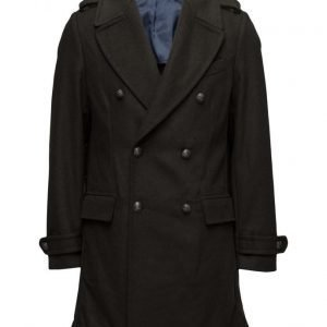 Mango Man Military Style Wool Coat villakangastakki