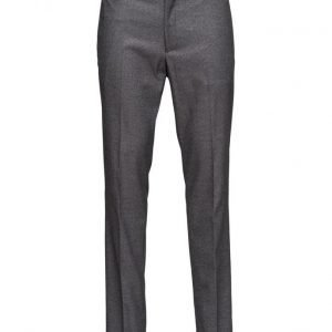 Mango Man Modern Slim-Fit Patterned Suit Trousers housut
