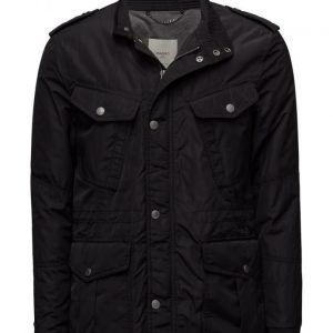 Mango Man Quilted Field Jacket tikkitakki