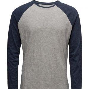 Mango Man Raglan Sleeve T-Shirt pitkähihainen t-paita