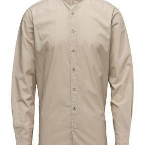 Mango Man Regular-Fit Mao Collar Shirt