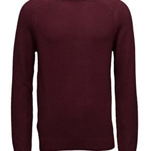 Mango Man Reverse-Knit Cotton Sweater pyöreäaukkoinen neule