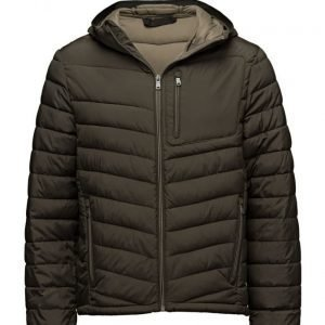 Mango Man Side-Zip Quilted Coat untuvatakki
