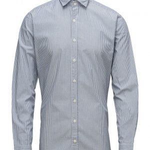 Mango Man Slim-Fit Bengal Stripe Shirt