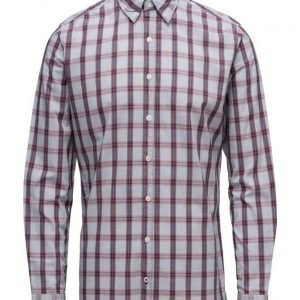 Mango Man Slim-Fit Check Cotton Shirt
