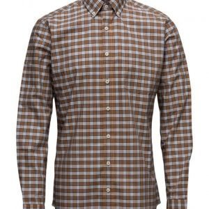 Mango Man Slim-Fit Check Shirt
