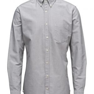 Mango Man Slim-Fit Cotton Oxford Shirt