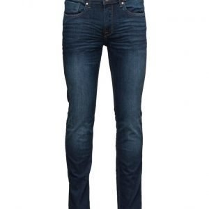 Mango Man Slim-Fit Dark Wash Jan Jeans slim farkut