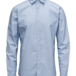 Mango Man Slim-Fit End-On-End Shirt
