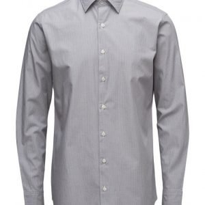 Mango Man Slim-Fit Fine-Stripe Patterned Shirt