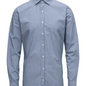 Mango Man Slim-Fit Gingham Check Shirt