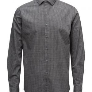 Mango Man Slim-Fit Houndstooth Shirt